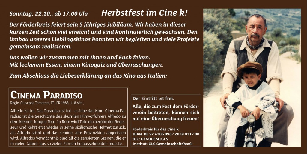 cine k Herbstfest 2017 -2